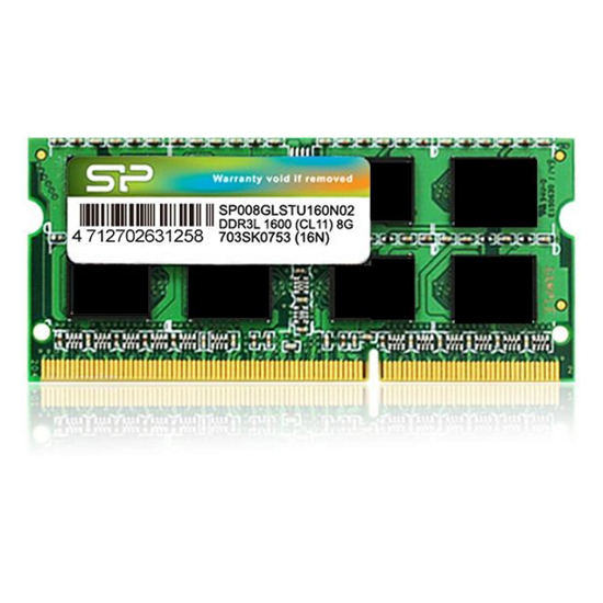 Picture of Silicon Power 4GB SODIMM DDR3L 1600MHz SP004GLSTU160N02