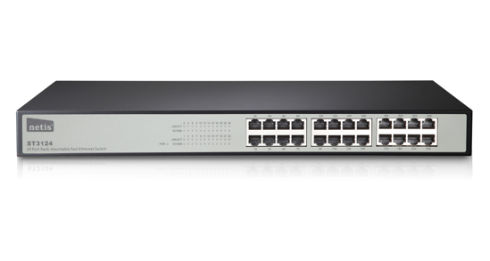 Picture of NETIS ST3124 Rackmount Switch