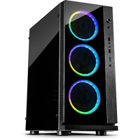 Picture of InterTech ATX Midi W-III RGB w/o PSU