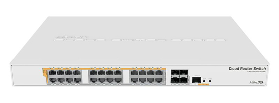 Picture of Mikrotik CRS328-24P-4S+RM