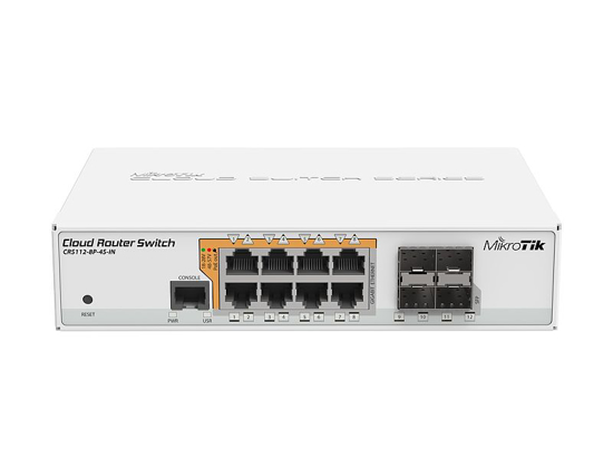 Picture of Mikrotik CRS112-8P-4S-IN