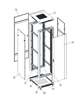 Picture of Safewell Rack orman 22U 600x600