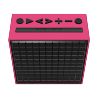Picture of Divoom Timebox LED BT speaker hot pink
