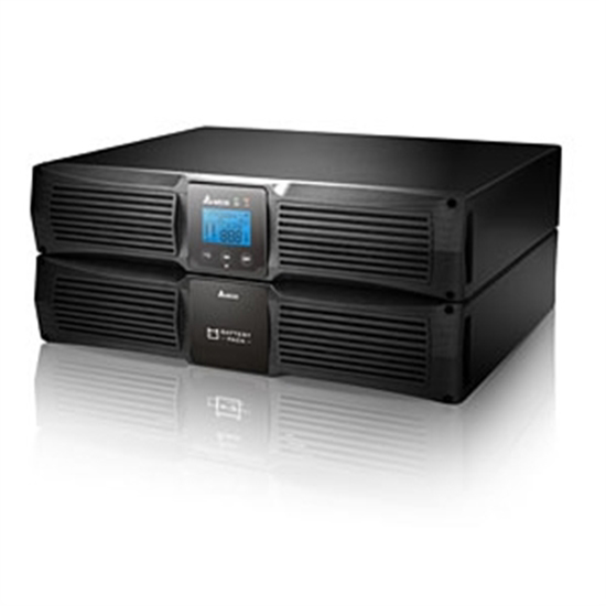 Picture of Delta UPS Amplon RT 3K On-Line 3kVA/2.7kW (12V9Ah x 6pcs) LCD Rack/Tower