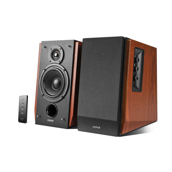 Picture of Edifier R1700BT 2.0 BT 66W speakers wood