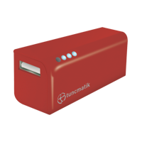 Picture of Tuncmatik Mini Charge 2000mAh PowerBank Red
