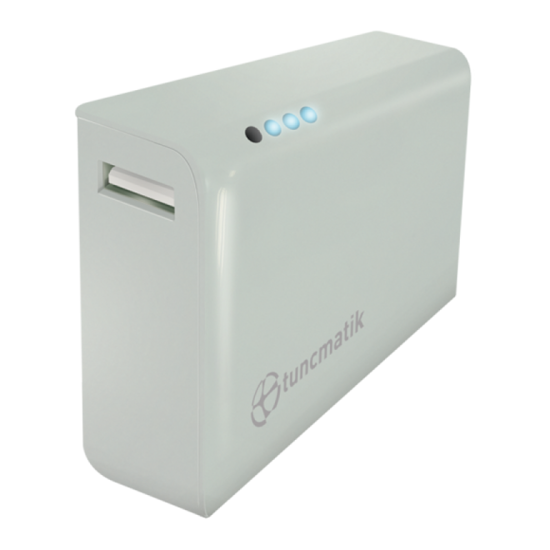 Picture of Tuncmatik Mini Charge 4000mAh PowerBank White