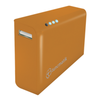 Picture of Tuncmatik Mini Charge 5000mAh PowerBank Orange