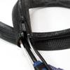 Picture of LogiLink  fleksibilna zaštita za kablove sa rajfešlusom 2m x 30mm crna