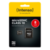 Picture of INTENSO 8GB Micro SD Card SDHC Class 10
