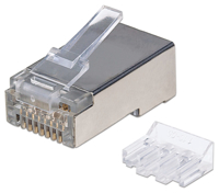 Picture of Intellinet Konektor RJ45 Cat6A Modular Plug, STP shielded, 70 kom