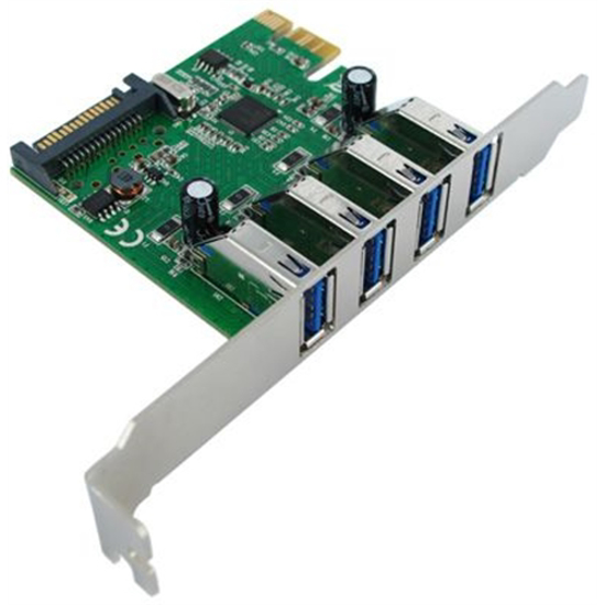 Picture of Secomp Value PCI-Express Adapter 4xUSB3.0 5 Gbit/s