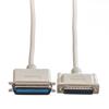 Picture of Secomp Roline Centronics Parallel Printer Cable DB25 M - C36 M grey 1.8m