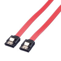 Picture of Secomp Value Internal SATA 6.0 Gbit/s Cable with Latch, 0.5m