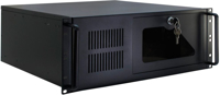 Picture of Secomp Value Case IPC Server 4U, Industrial Chassis STD, Black