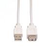 Picture of Secomp USB2.0 A-A M/F beige 1.8m produžni kabl
