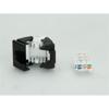 Picture of Secomp Value Keyst. Jack, UTP, RJ45, Cat6, 180°, toolless, white