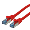 Picture of Secomp Roline SFTP PatchCord Cat6A LSOH CL red 0.3m