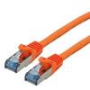 Picture of Secomp Roline SFTP PatchCord Cat6A, LSOH, CL, orange, 2.0m