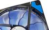 Picture of InterTech Fan Argus L-12025 BL, 120mm LED, Blue