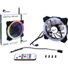 Picture of InterTech Fan Argus RS01, 120mm LED(RGB), RF