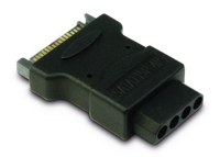 Picture of InterTech AC SATA --> Molex Adapter
