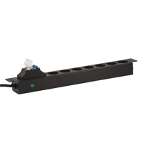Picture of LanPlus PDU 220V LP-1.5U-7SCH-2P