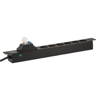 Picture of LanPlus PDU 220V LP-1.5U-6SCH-2P