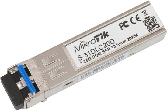 Picture of Mikrotik S-31DLC20D SFP Module 1,25G