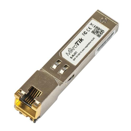 Picture of Mikrotik S-RJ01 SFP modul RJ45 10/100/1000Base-T