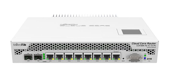Picture of MikroTik CCR1009-7G-1C-1S+PC