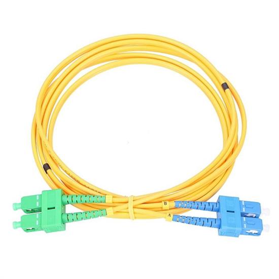 Picture of Extralink Patchcord SM SC/UPC-SC/APC Duplex G652D PVC 3.0mm, 5.0m