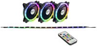 Picture of Intertech FAN SET ARGUS RS-04 RGB