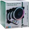 Picture of Intertech FAN SET ARGUS RS-04 RGB