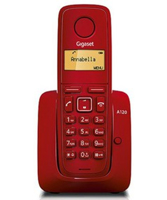 Picture of Siemens Gigaset A120 Red