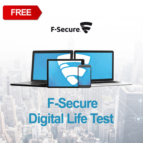 Picture of F-Secure Digital Life Test FREE