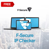 Picture of F-Secure IP Checker FREE