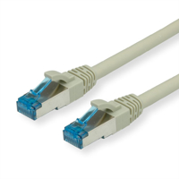 Picture of Secomp Roline SFTP PatchCord Cat6A, LSOH, gray, 30.0m