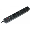 Picture of Gembird Power Cube surge protector 4.5m SPG6-B-15b 6UT