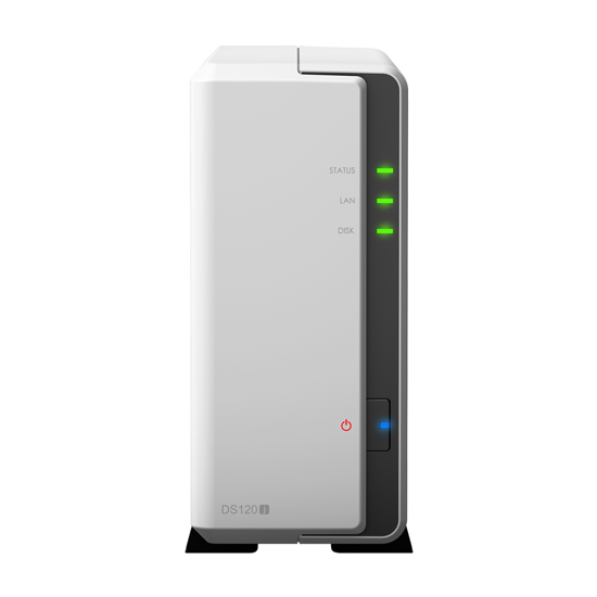 Picture of NAS Synology DS120J 1HDD 1LAN, 2USB