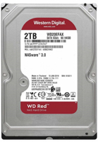 "Picture of WD HDD 2TB 3.5"" Red"
