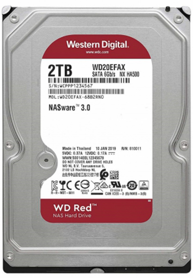 """Picture of WD HDD 2TB 3.5"""" Red"""