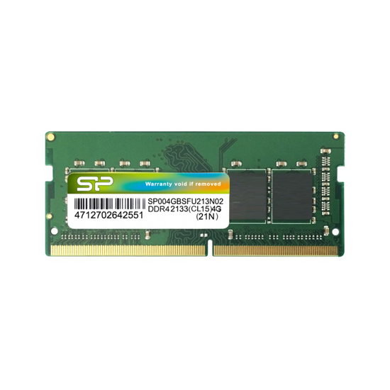 Picture of Silicon Power 4GB SODIMM DDR4 2666MHz SP004GBSFU266N02