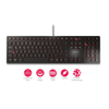 Picture of Cherry KC-6000 Slim tastatura, USB, YU, crna