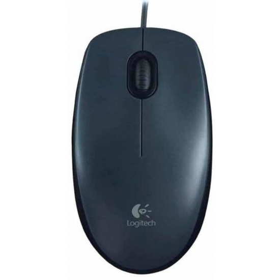 Picture of Logitech M90 Wired Optical Mouse USB GRAY