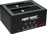Picture of Secomp Roline 2.5 + 3.5 SATA HDD Docking Station, USB3.2 gen1