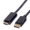 Picture of Roline Displayport Cable DP-UHDTV M/M 2.0m