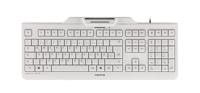 Picture of Cherry KC-1000SC tastatura sa čitačem smart kartica, USB, bela