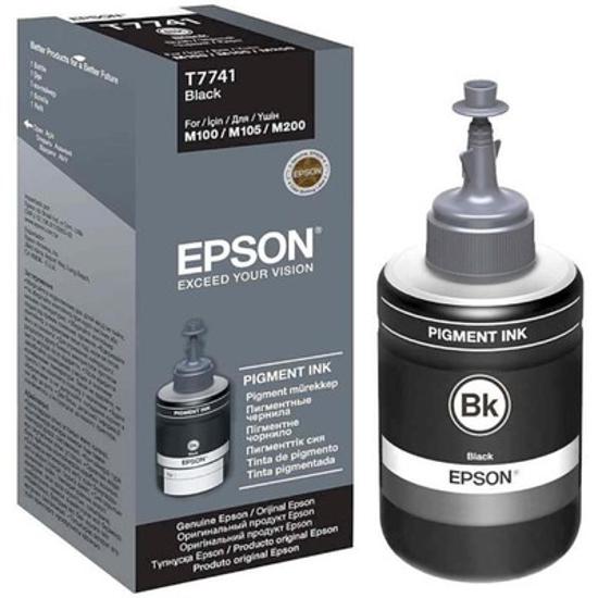 Picture of EPSON Mastilo T7741 Black za M105/M200