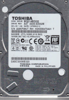 "Picture of Toshiba HDD 320MB 2.5"" MQ01ABD032"